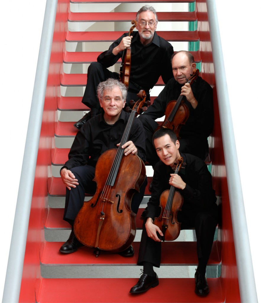 Juilliard String Quartet Foto: Simon Powis